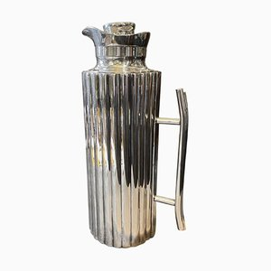 Silver Plated Italian Thermos Carafe by Cassetti Firenze, 1970s