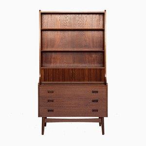 Mid-Century Danish Secretaire Cabinet or Bookcase in Teak from Nexø, 1960s