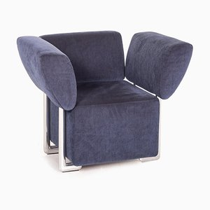 Clou Armchair in Blue Fabric from COR