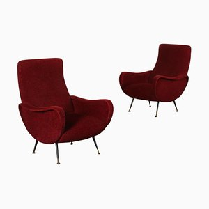 Armchairs, 1950s or 1960s, Set of 2