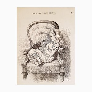 Through the Looking Glass Book with Illustrations by Sir John Tenniel, 1872