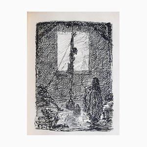 Nachtstucke Book Engraved by Alfred Kubin, 1913