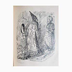 Märchen Book Illustrated by Alfred Kubin, 1911