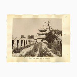 Unknown, Ancient Views of Beijing, Forbidden City, Original Albumen Prints, 1890