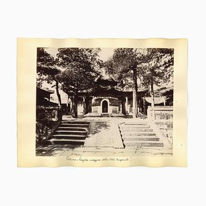 Unknown, Ancient Views of the Imperial City of Beijing, Original Albumen Print, 1890s