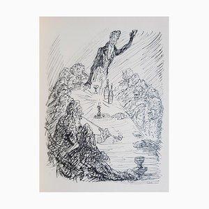 Phantasien im Bremer Ratskeller Book Illustrated by Alfred Kubin, 1914