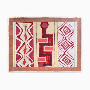 Organic Geometry (El Buey I), Abstract Painting, 2020