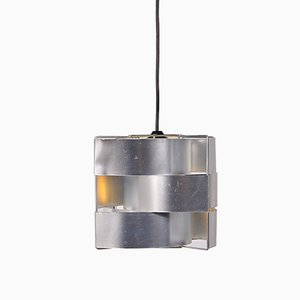 Aluminium Hanging Lamp from Max Sauze, 1960s