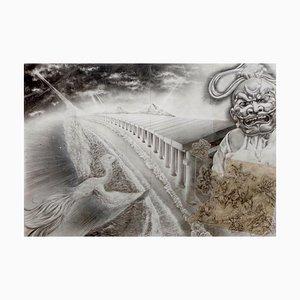 Japanese Contemporary Drawing by Tomo Sakurai, 2020