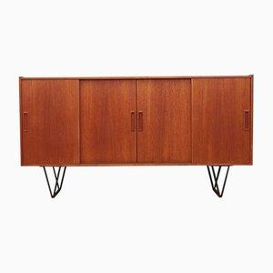 Teak Sideboard, Danish Design, 1970s, Production: Denmark