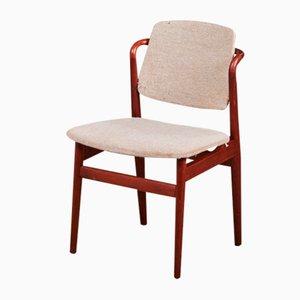 Vintage Danish Teak Dining Chairs, 1960s, Set of 4