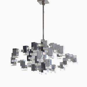 Large Hanging Lamp by Gaetano Sciolari, 1960s