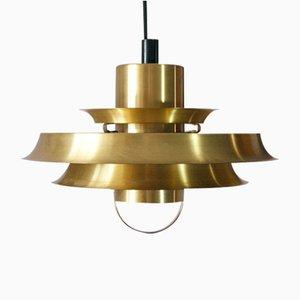 Gold Pendant Lamp from Vitrika