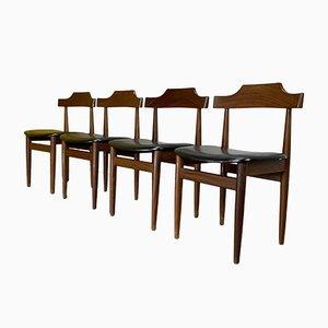 Dining Chairs by Hans Olsen for Frem Røjle, Denmark, 1960s, Set of 4