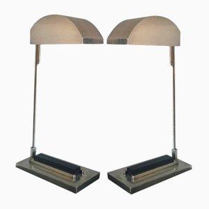 Bauhaus Desk Lamps, Set of 2