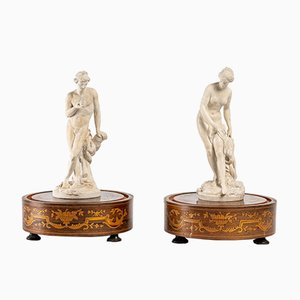 Terres de Lorraine Statuettes, Set of 2