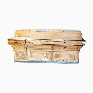 20th Century French Art Deco Boucherie (Butchers Block) Table