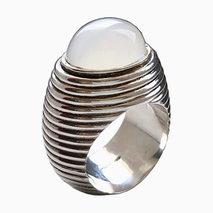 Moonstone & Sterling Silver Ring from Berca