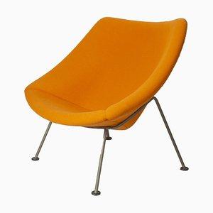 Orangefarbener Oyster Sessel von Pierre Paulin für Artifort