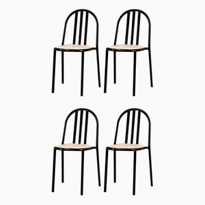 No. 222 Dining Chairs by Robert Mallet-Stevens, 1980s, Set of 4