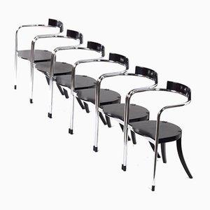 Italian Fauno Dining Chairs by David Palterer for Zanotta, 1987, Set of 6