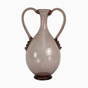 20th Century Murano Glass Vase by Vittorio Zecchin for Venini