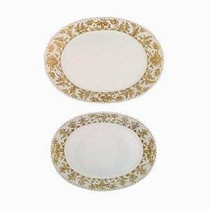 Porcelain Serving Dishes Bjorn Wiinblad for Rosenthal, Set of 2