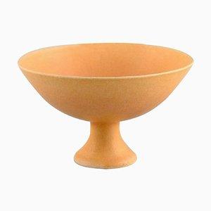 21st Century Glazed Ceramic Bowl from European Studio Ceramicist