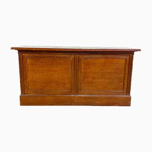 Antique French Wooden Shop Counter or Sideboard