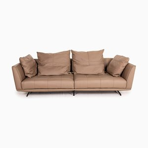 Brown Leather Sofa from Gutmann Factory