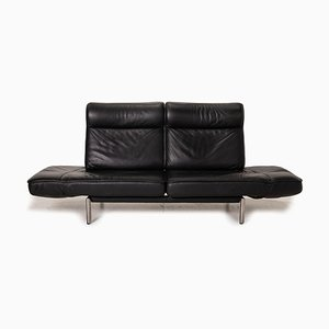 Black Leather DS 450 Sofa from De Sede