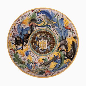 Grand Parade Decorative Plate from Cantagalli