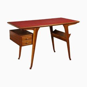 Italian Formica Beech Writing Desk, 1950s