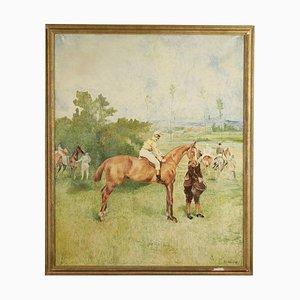 Landscape With Horses and Jockeys