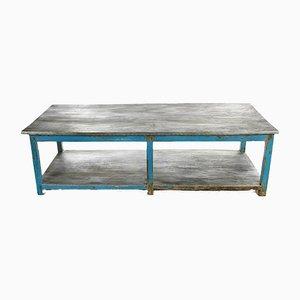 Zinc & Wood Coffee Table