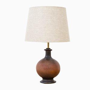 Stoneware Table Lamp by Sven Wejsfelt for Gustavsberg