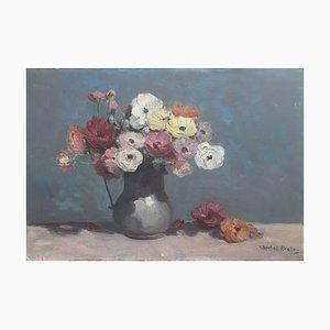 Charles Breton, Bouquet of Flowers in Jug, 1919