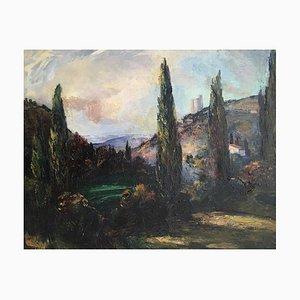 Laure Stella Bruni Landscape With Cypress, 1963