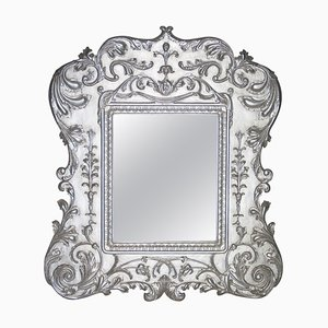 Neoclassical Regency or Empire Style Wood Mirror, 1970s