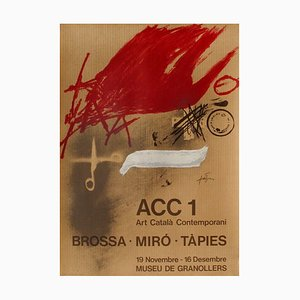 Expo 77: Museu de Granollers by Antoni Tàpies