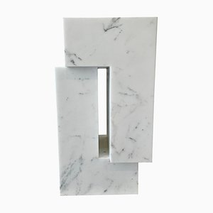 Contemporary White Carrara Marble Sculpture by Pieter Van Loocke, Belgium