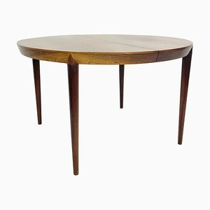 Mid-Century Dining Table with 1 Extension by Severin Hansen, Denmark, 1960s