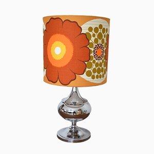 Lámpara de mesa Flower Power, años 70