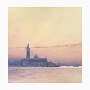 Claude Sauthier Lake Landscape of the Bay of Venice, 1970