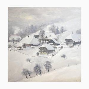 Claude Sauthier, Neige à Hirsegg, Bern, 1980