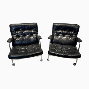 Armchairs by Bruno Mathsson for Dux, Set of 2