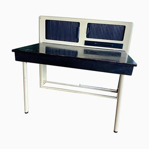 British Modern Desk with Cabinet, 1930s or 1940s