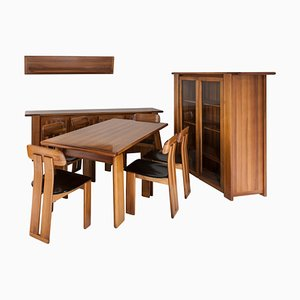 Dining Room Set from Mobilgirgi, 1970s, Set of 10