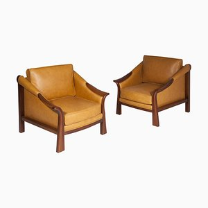 Armchairs by Pierre Chareau, Set of 2