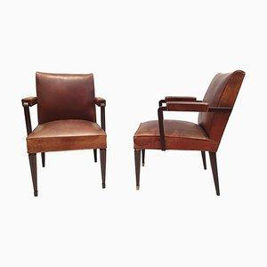 Armchairs by Maison Jansen, Set of 2